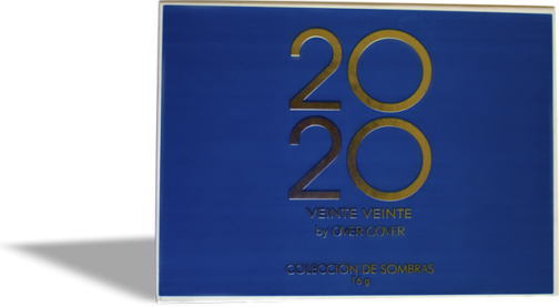 Paleta sombras 2020